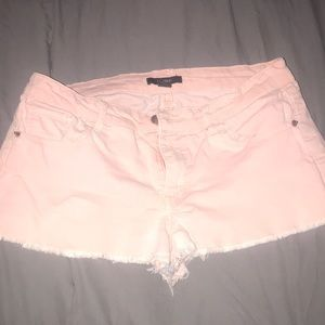 Forever 21 peach/light pink shorts